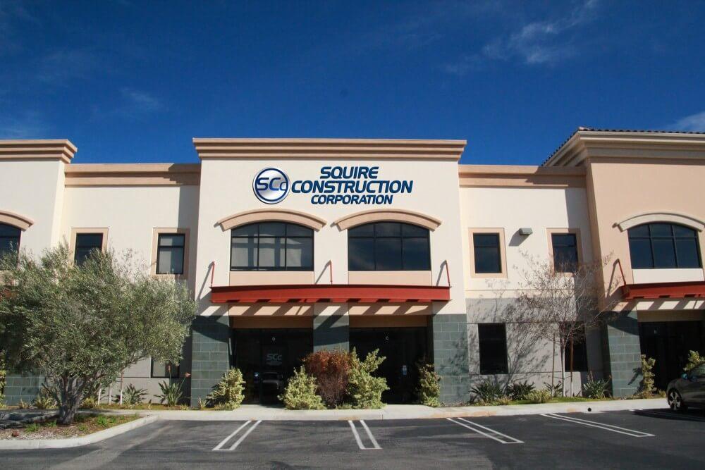 Squire Construction Office in Camarillo, Ventura County