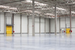 industrial commercial construction building interior